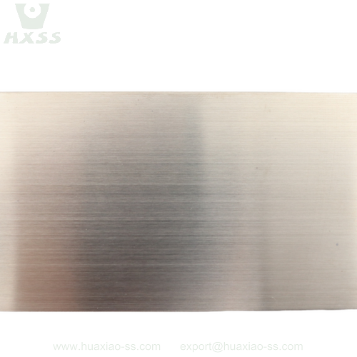 hair line stainless steel