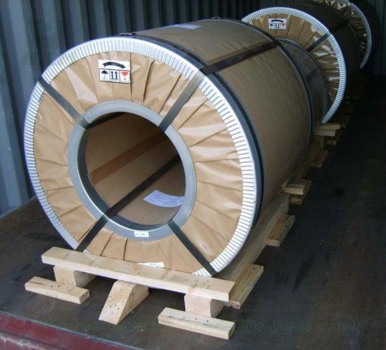 bobinas de acero inoxidable laminadas en caliente
