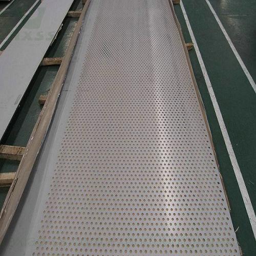 placa de acero inoxidable perforada, acero inoxidable perforado, malla de acero inoxidable perforada
