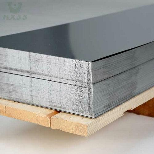 صفائح الفولاذ المقاوم للصدأ 304 الصف ، مرآة إنهاء ورقة الفولاذ المقاوم للصدأ ، مرآة مصقول ورقة الفولاذ المقاوم للصدأ