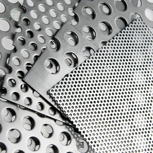 stainless steel perforated sheet, perforated stainless sheet