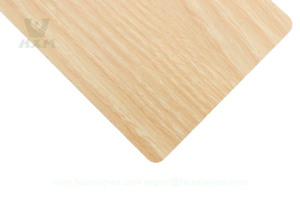 fogli laminati con venature del legno