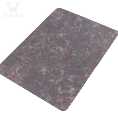Marble Finish Stainless Steel