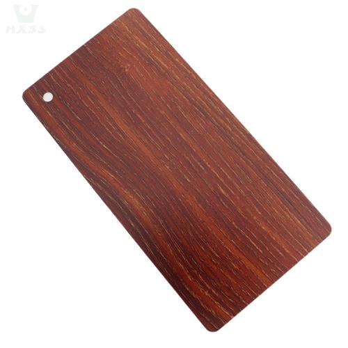 Acciaio inossidabile, acciaio inossidabile con venature del legno