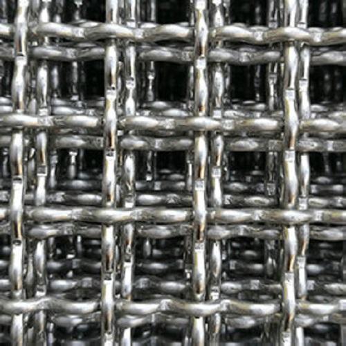 Malla de alambre de acero inoxidable, Malla de alambre prensado de acero inoxidable