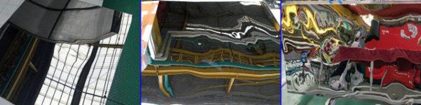 Láminas de acero inoxidable de ondulación de agua, Proveedor de acero inoxidable de ondulación de agua